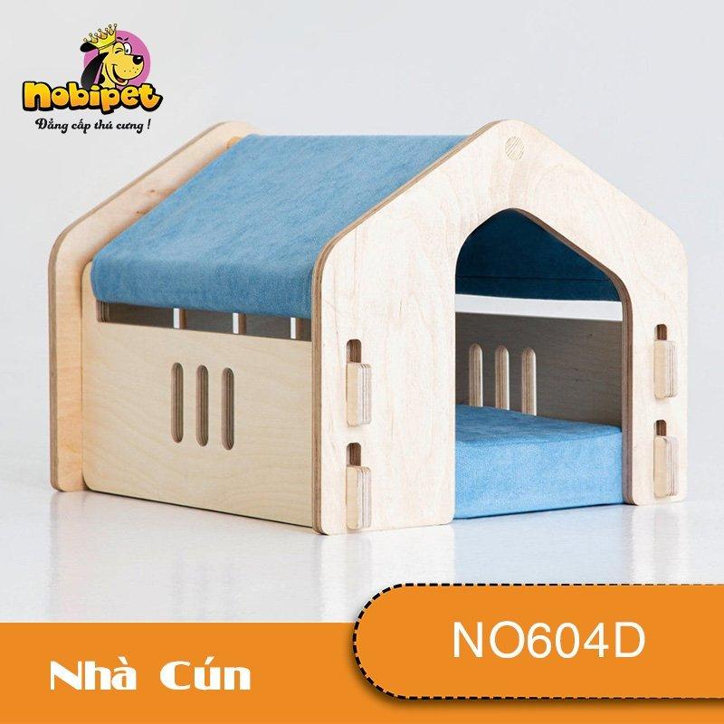 Nhà Ngủ Gỗ Lắp Ráp Sky Cho Chó Mèo NO604D SIZE S cho Chó Mèo dưới 2 Kg (nhiều màu)