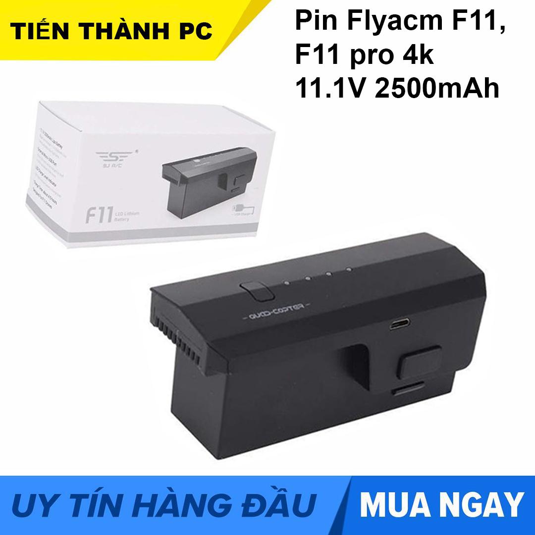 Pin flycam SJRC F11 F11 PRO F11S 4K PRO 11.1V 2500mAh
