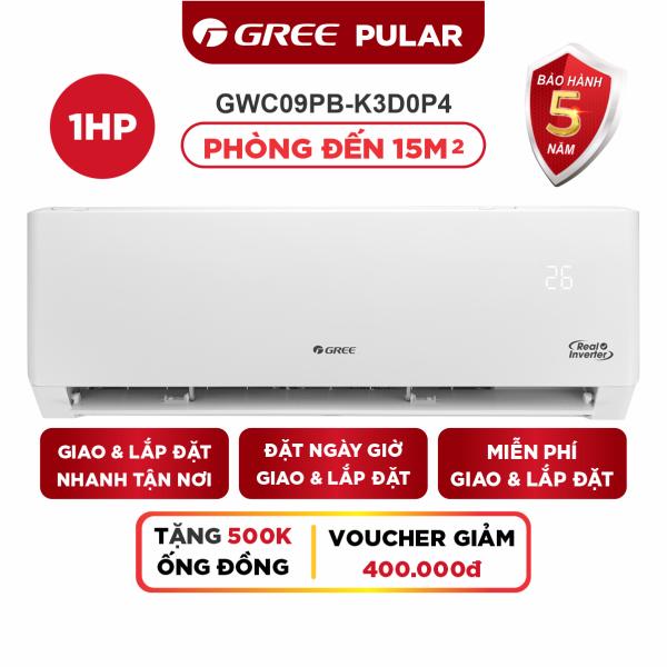 Bảng giá Máy Lạnh GREE PULAR 1.0 HP Inverter - Phù Hợp Phòng 15m2