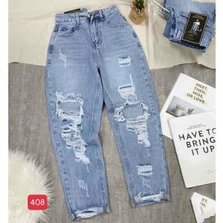 [HCM]Quần baggy nữ mẫu mới quần baggy jeans nữ lưng caoquần ống rộng trẻ trung thiết kế đơn giản cam kết hàng y hình chất lượng MINISHOP2K MN344 thumbnail