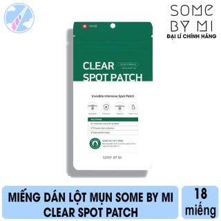 Miếng Dán Hỗ Trợ Giảm Mụn Some By Mi Clear Spot Patch 18 Miếng thumbnail