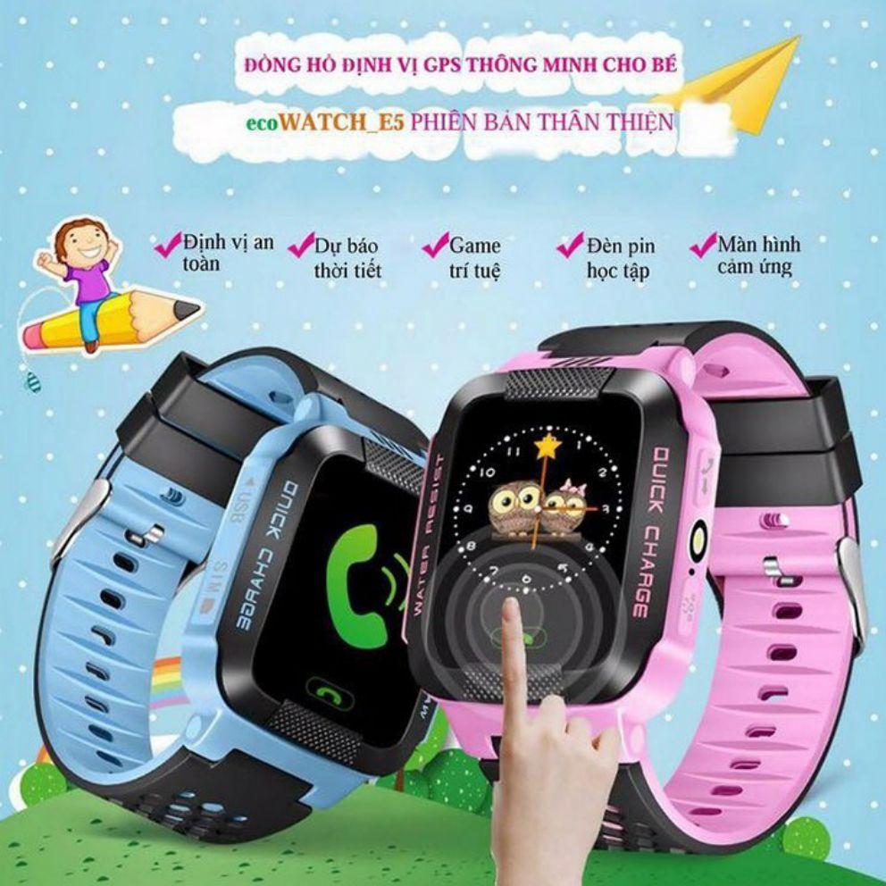 Đồng hồ định vị thông minh ecoWATCH E5 cho bé