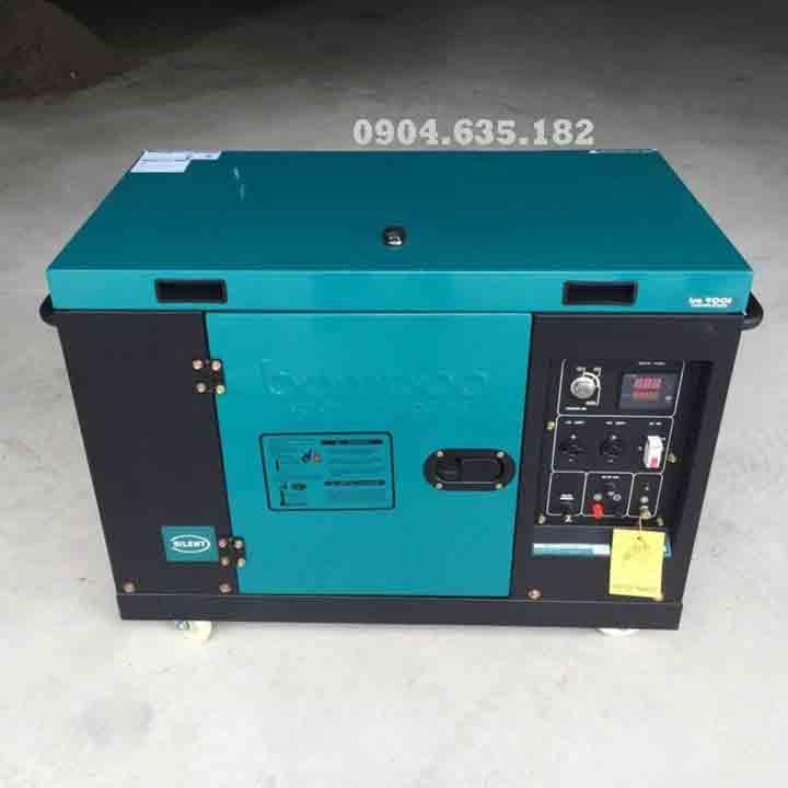 Máy phát điện chạy dầu 6.5kw Bamboo 8800EAT có tủ ATS