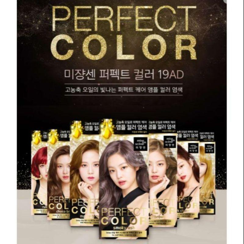 Thuốc nhuộm tóc Black Pink Perfect Color Hair Dye cao cấp