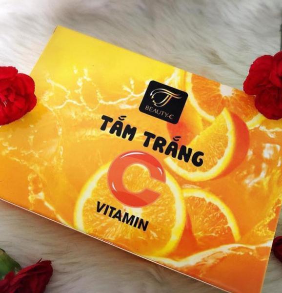 Tắm trắng da Cam vitamin C tốt nhất