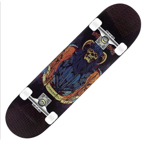 Phân phối Ván trượt Thể Thao Mặt Nhám Dành Cho Người Mới Tập Chơi,Ván Trượt SkateBoard, Ván Trượt Dài, Cỡ Lớn Đạt Chuẩn Thi Đấu (Mặt Nhám + Bánh Cao Su)
