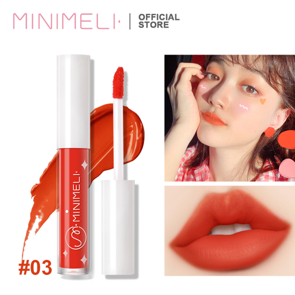 MINIMELI Matte lipstick, Long-lasting Liquid lipstick Makeup Cosmetic - INTL