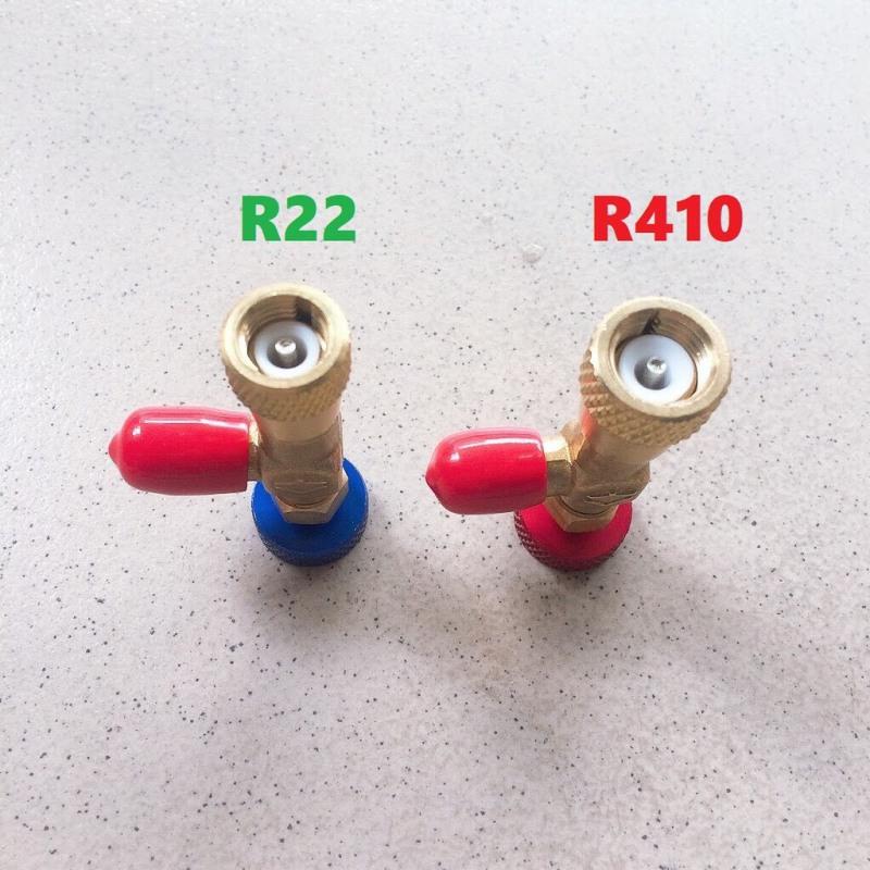 Van khóa gas chống bỏng R410 thương hiệu Hengsen