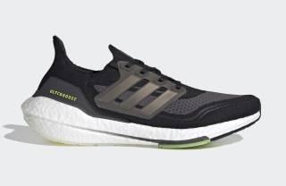 Giày running Ultra Boost 2021 Black Solar thumbnail