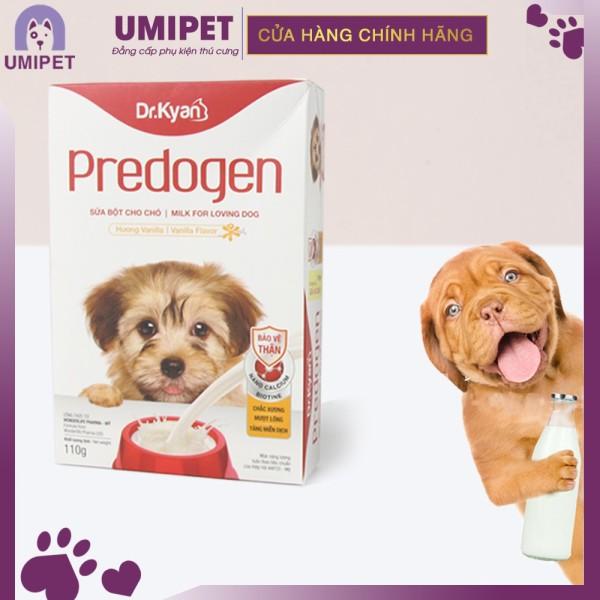 Sữa bột cho Chó Dr.Kyan Predogen ( Hộp giấy 110gr ) UMIPET - Sữa bột cho thú cưng cao cấp