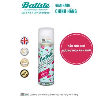 Dầu Gội Khô Hương Anh Đào - Batiste Dry Shampoo Fruity & Cheeky Cherry 50ml thumbnail