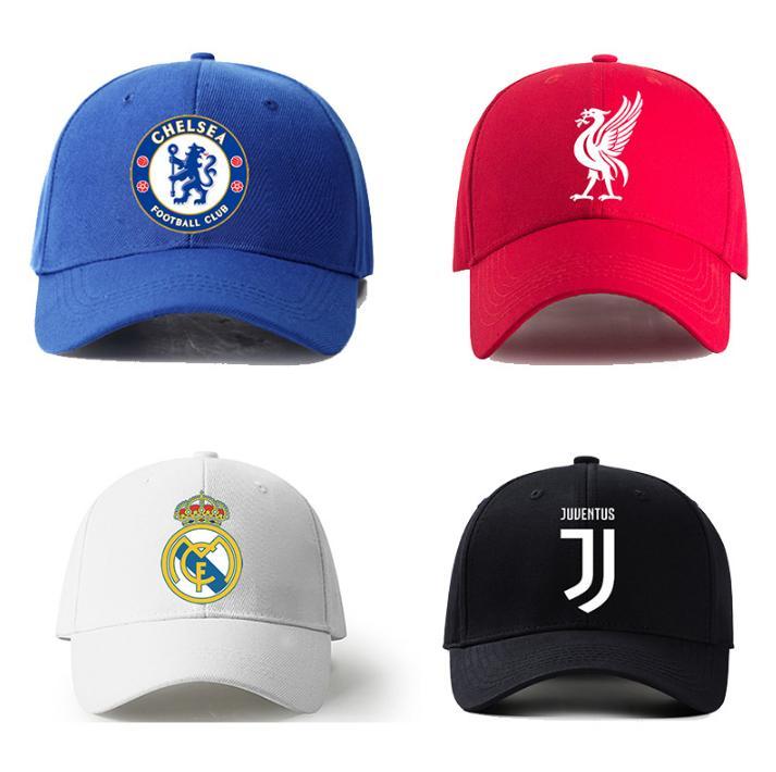 Nón Logo Các Câu Lạc Bộ Bóng đá Arsenal Liverpool MU Chelsea Real Barca Giá Sốc Không Thể Bỏ Qua