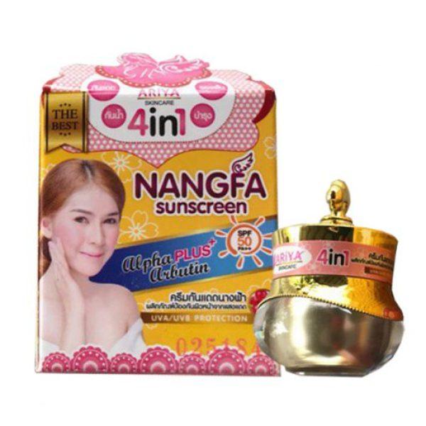 Kem chống nắng NANGFA 4in1 Thái Lan 5gram giá rẻ