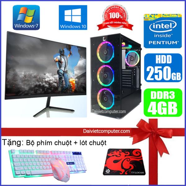 Bảng giá [Trả góp 0%]Bộ máy tính PC Game LED CPU Pentium G2010 / i5-3330 / Ram 4GB-8GB / HDD 250GB - SSD 120GB / VGA 1GB - 2GB chơi PUBG mobile PUBG lite LOL CF đột kích Fifa Cs Go AOE ... + Màn hình + [QÙA TẶNG: Bộ phím chuột game tai nghe] GAi53 + M - LDV Phong Vũ