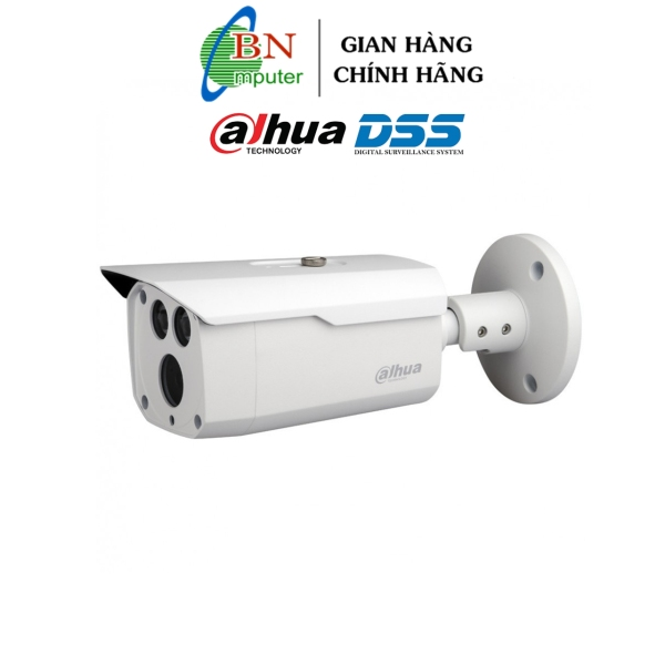 Camera Dahua HFW 1200DP HDCVI Tem Dss camera an ninh 2.0MP, camera quan sát nhà xưởng, thân sắt ống to