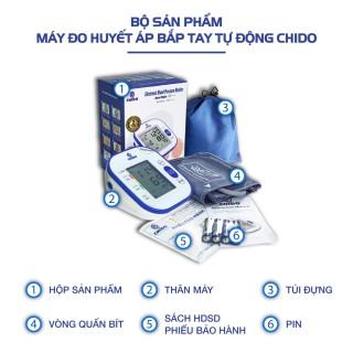 Máy đo huyết áp bắp tay tự động CHIDO BSX561 thumbnail