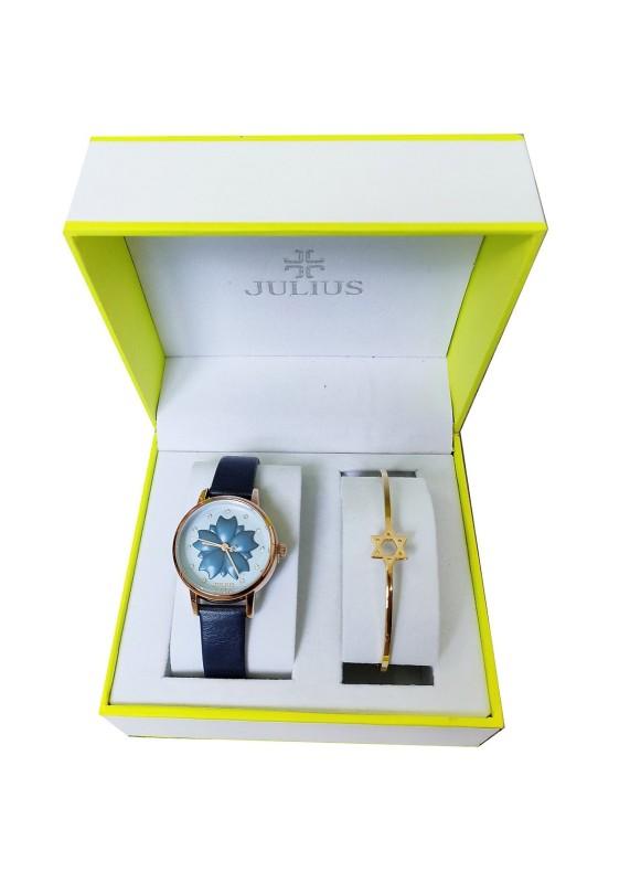 Combo đồng hồ nữ Julius Hàn Quốc ja-1000e và lắc tay thời trang Julius