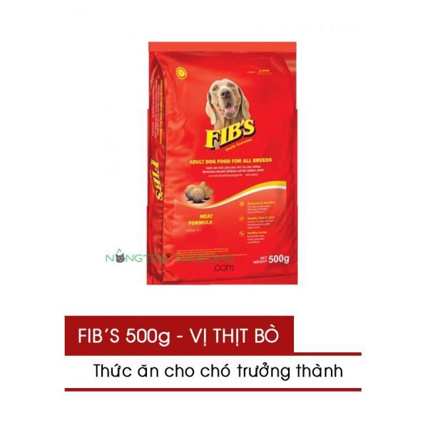 Thức ăn cho chó trưởng thành FIBS 400g - Vị Thịt Bò - [Nông Trại Thú Cưng]