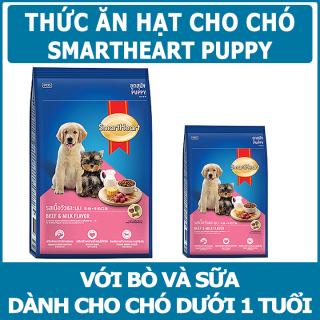 Thức ăn cho chó con vị bò và sữa SmartHeart Puppy Beef and Milk flavour thumbnail