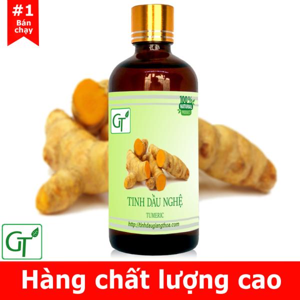 Tinh dầu Nghệ Nguyên Chất 100% Thiên Nhiên chai 10 - 100ml - Tinh Dầu Nghệ Chăm Sóc Da, Làm Lành Vết Thương, Mờ Sẹo, Giảm Mụn, Mờ Vết Nám nhập khẩu
