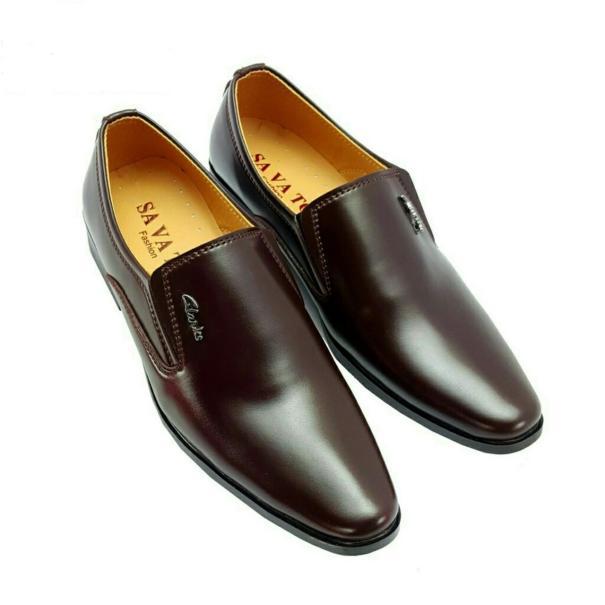 Giày tây nam phong cách lịch lãm da mềm đế khâu chắc chắn có 2 màu đen và nâu giá rẻ