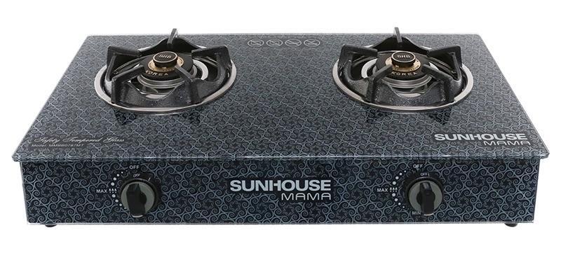 Bếp Gas Sunhouse Mama MMBB0787MT Mới 100%,Mặt Bếp Bằng Kính Cường Lực-Đầu đốt Bằng đồng Thau Bền Bỉ, Cho Lửa Xanh Không đen Nồi. Giá Rẻ Bất Ngờ
