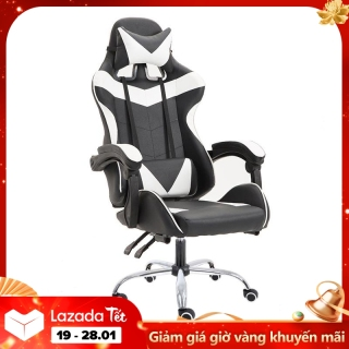 Ghế máy tính gia dụng có thể nằm, Ghế chơi game, ghế văn phòng cao cấp, Ghế chơi game đơn giản thời trang cá tính Vin SuperMart thumbnail