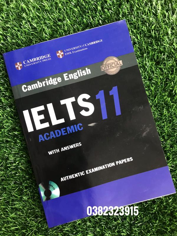 Sách Cambridge English IELTS 11 with answer