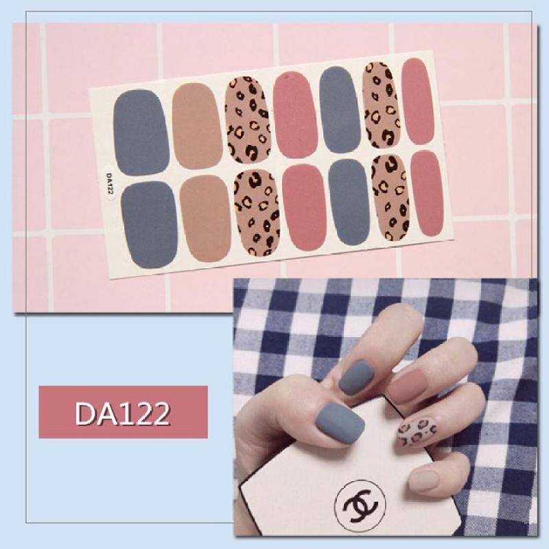 Tấm sticker đẹp mắt dùng dán trang trí móng tay mã DA121 - DA140