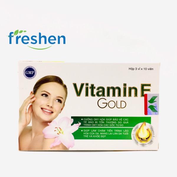Vitamin E Gold - Tăng Cường Sức Đề Kháng, Giảm Lão Hóa Da nhập khẩu