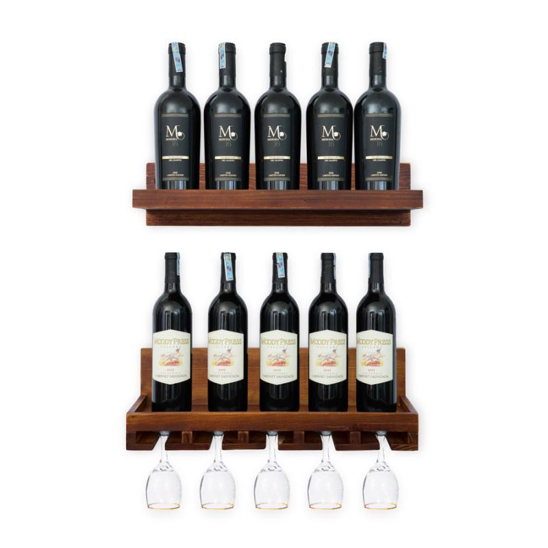 Kệ Rượu Treo Tường KR28