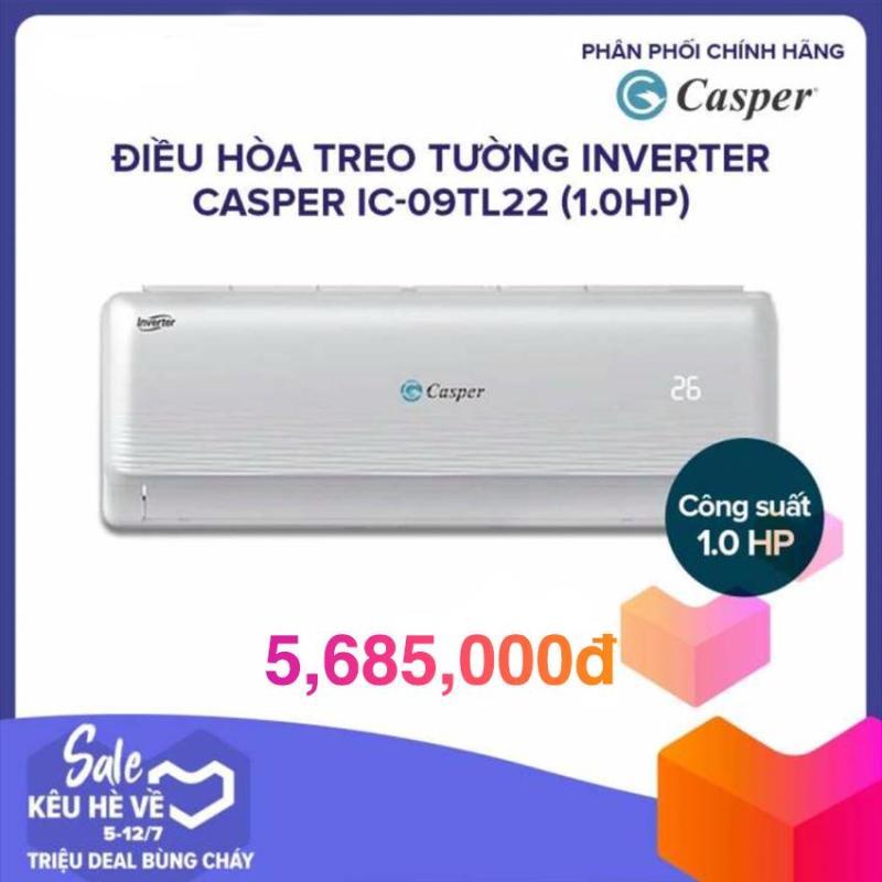 Bảng giá Máy Lạnh Inverter Casper IC-09TL11/22 (1.0HP) - Trắng (GAS 410A) Điện máy Pico
