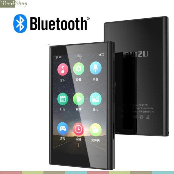 Ruizu H10 - Máy Nghe Nhạc Buetooth 5.0 Hai Chiều, Màn Hình Cảm Ứng, Xem Phim Full HD, Có Loa Ngoài (16GB)