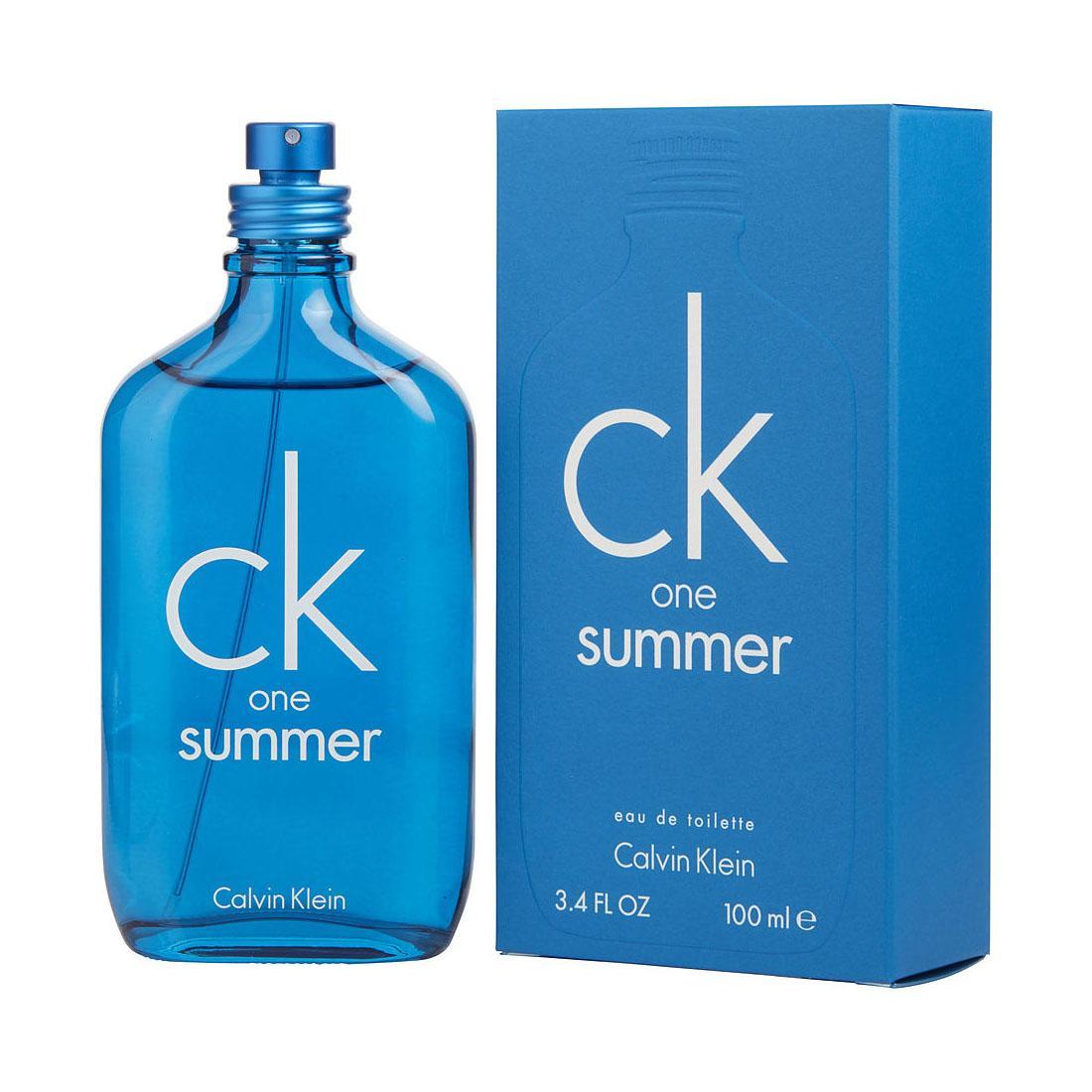 Nước Hoa Unisex Calvin Klein One Summer Limited Edition 2018 EDT 100ml