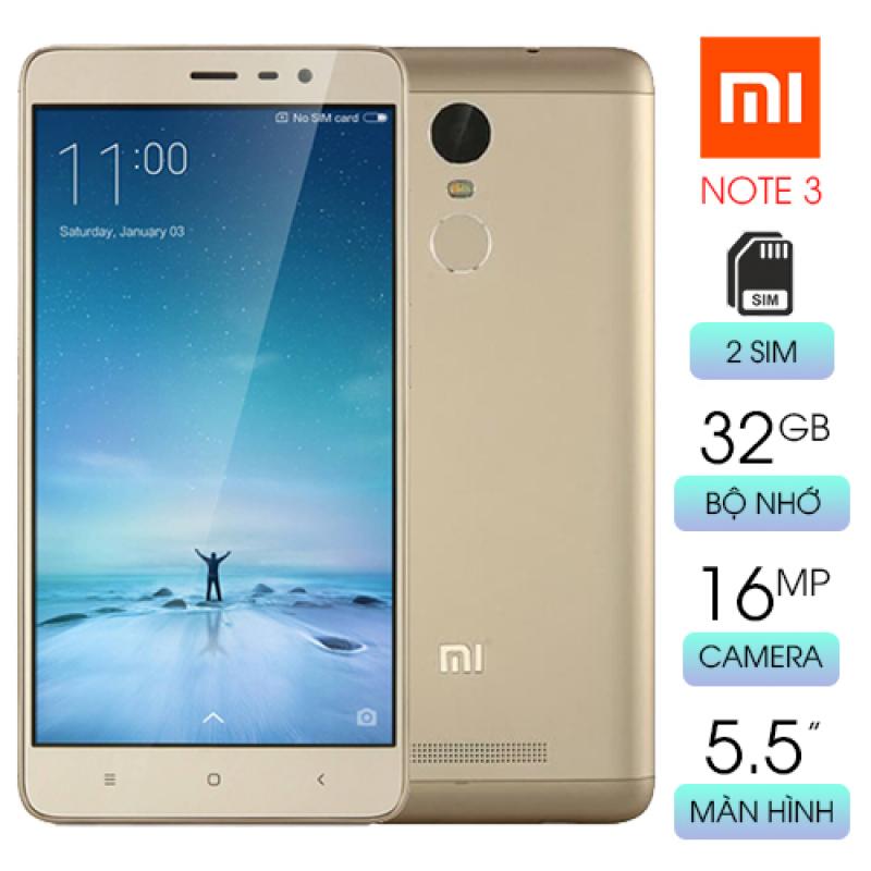 Điện thoại Redmi Note 3 màn hình rộng cấu hình khủng giá ưu đãi