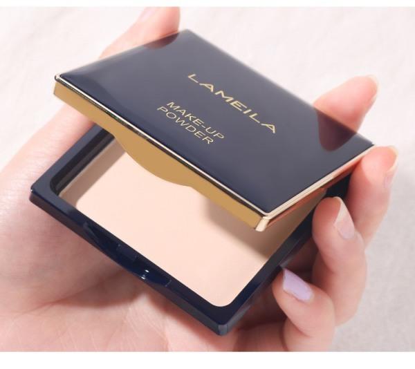 🐬Phấn Nền Trang Điểm DOLPHIN XANH Lameila cao cấp 5063 makeup powder kiềm dầu che khuyết điểm lâu trôi mềm mịn tự nhiên kiềm dầu nội địa chính hãng sỉ rẻ WE STORE 🐬
