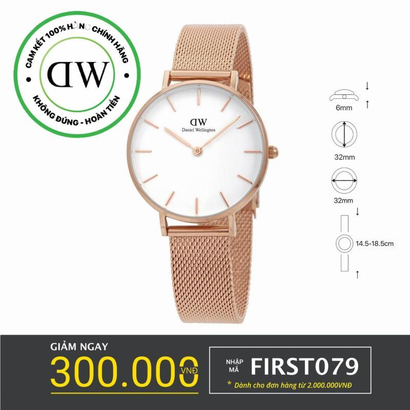 Nơi bán Đồng hồ nữ dây lưới Daniel Wellington Classic Petite Melrose 32mm - DW00100163