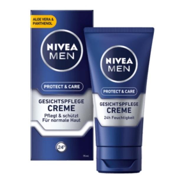 Kem dưỡng da nam NIVEA MEN Gesichtspflege 75ml - Đức (Da thường)