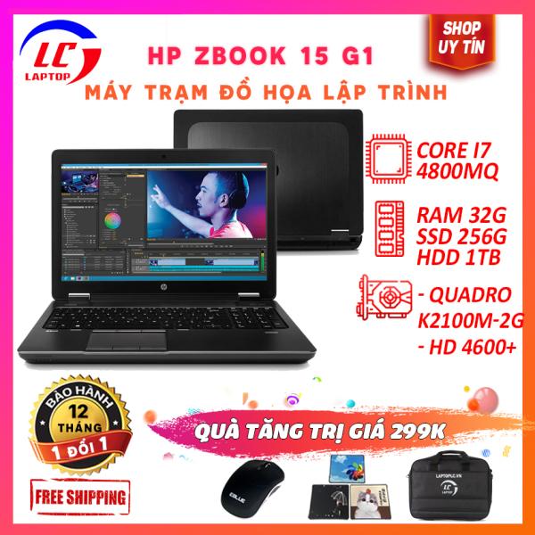 Bảng giá [Máy Trạm Đồ Họa] HP Zbook 15 G1 core i7-4800MQ, VGA Quadro K2100M-2G, màn 15.6 Full HD - laptop game Phong Vũ