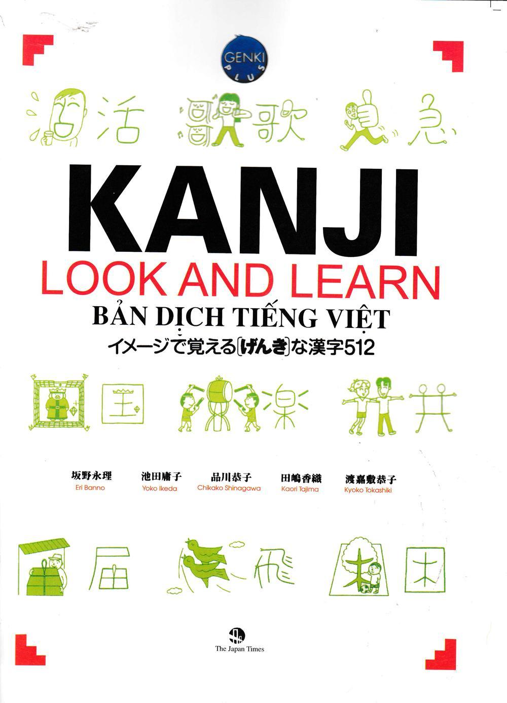 Sách Kanji Look And Learn 512 Chữ Hán (bản Dịch Tiếng Việt) Đang Có Khuyến Mãi