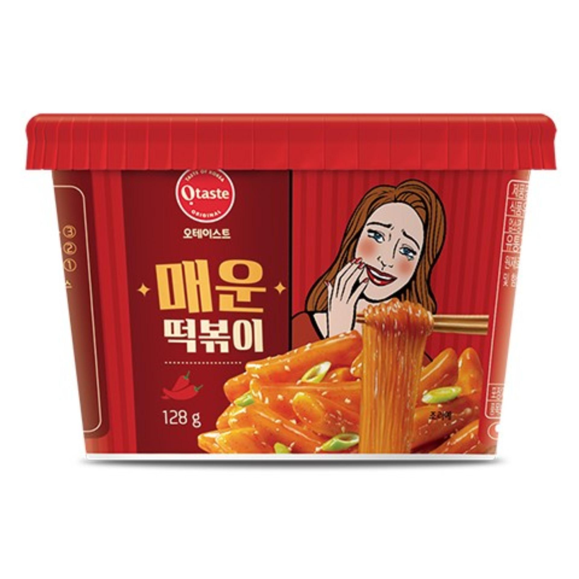 Bánh Gạo Hàn Quốc Topokki & Miến Otaste Vị Cay Ngọt 128gr Đang Có Khuyến Mãi