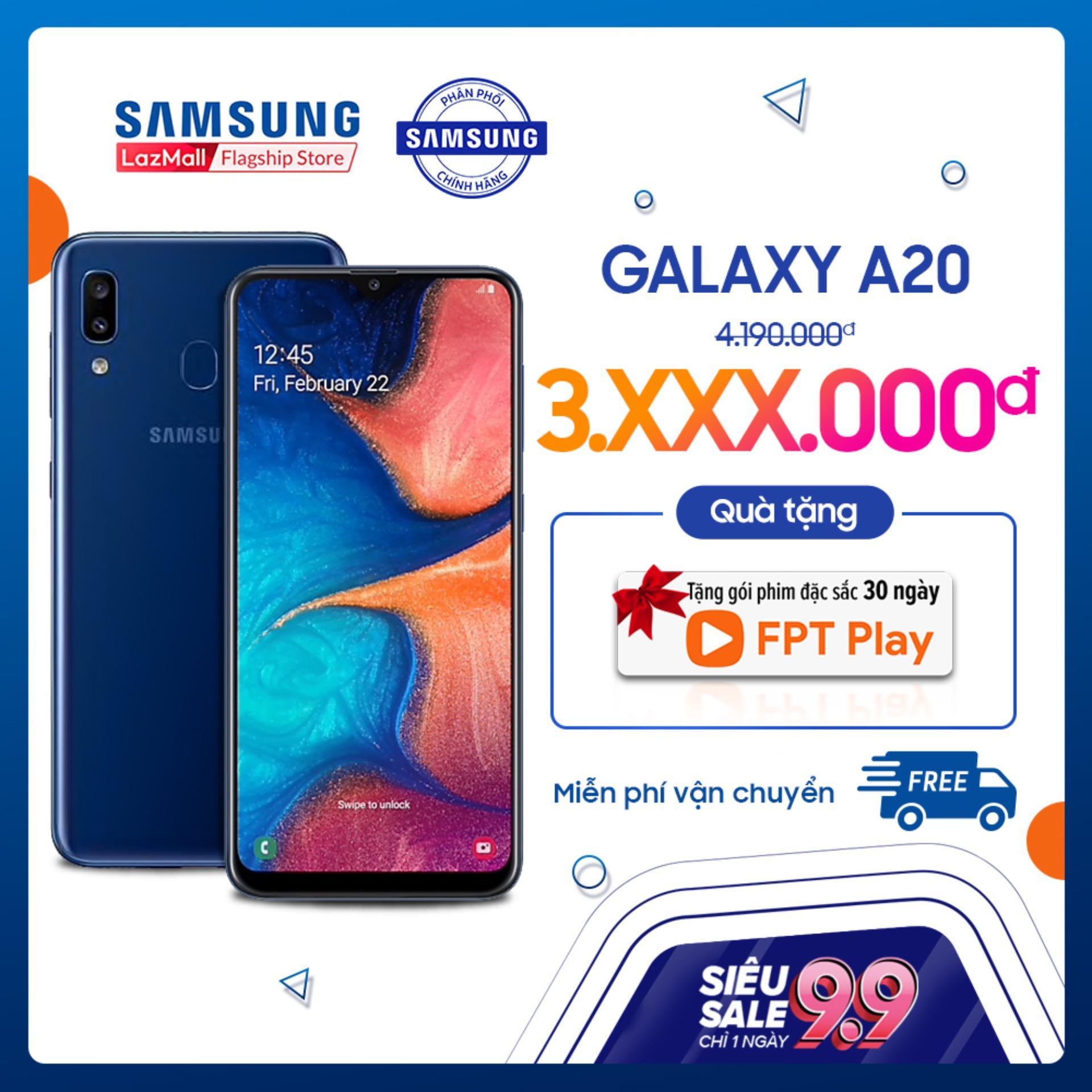 Samsung Galaxy A20 - Điện Thoại Chính Hãng