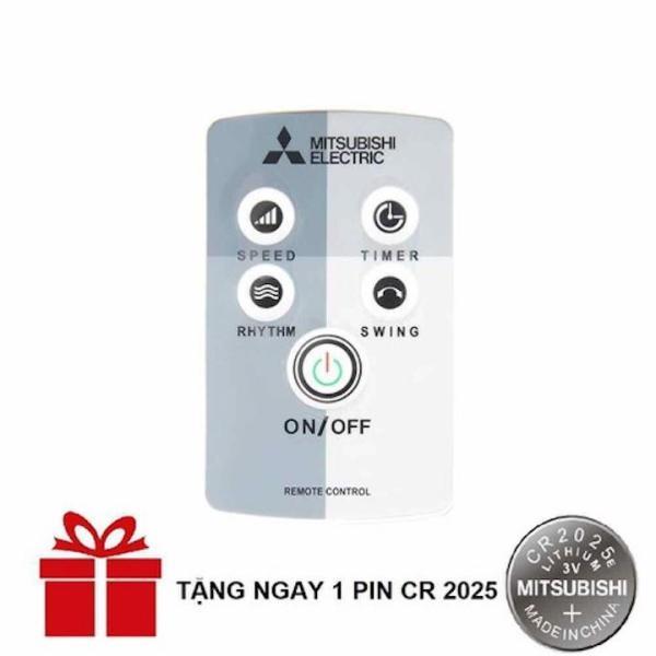 Remote Điều khiển quạt Mitsubishi đa năng Tặng kèm Pin CR2025 loại đẹp