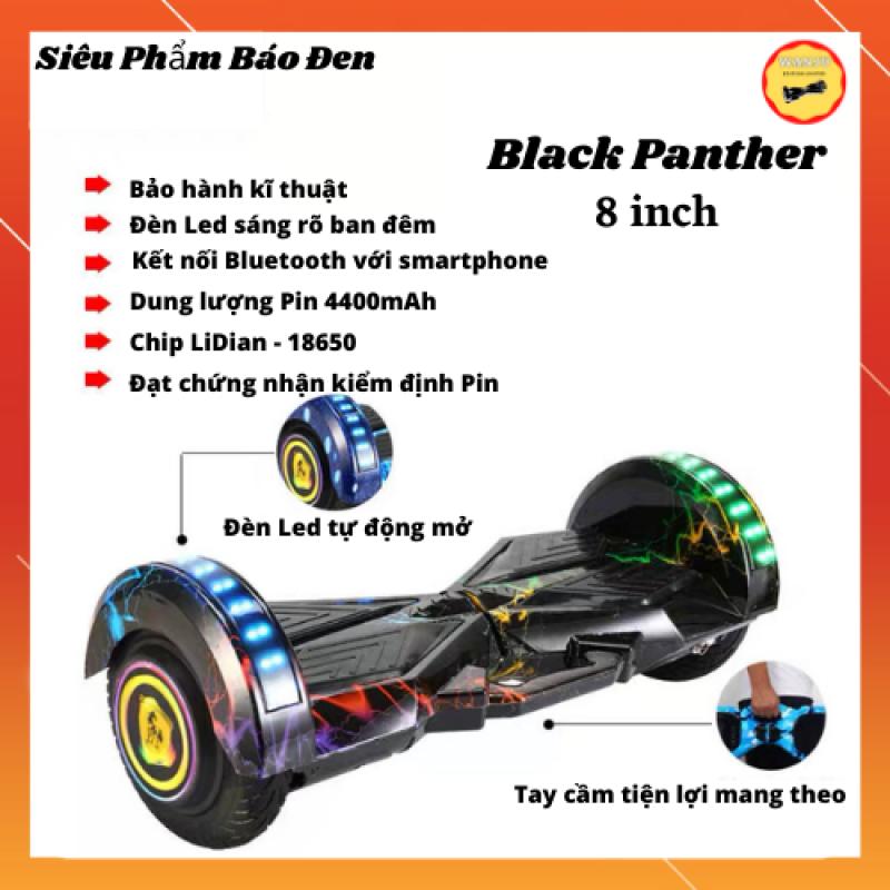 Mua [ Siêu Phẩm Black Panther ] Xe điện cân bằng màu siêu phẩm báo đen 8 inch đầy đủ chức năng