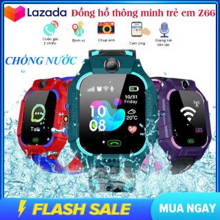 Đồng hồ thông minh trẻ em định vị Z66, đồng hồ chống nước màn hình cảm ứng , nghe gọi 2 chiều ,Tích Hợp Camera Chụp hình gửi về điện thoại của phụ huynh thumbnail