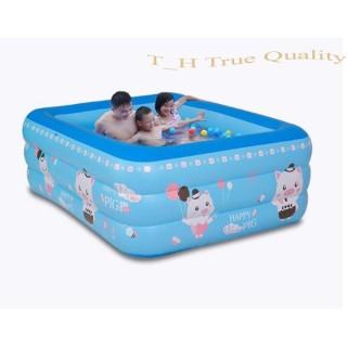 Bể bơi phao trẻ em đủ Cỡ hồ bơi 3 tầng chống trượt, an toàn cho bé thỏa sức vui chơi (Ngẫu nhiên họa tiét ngẫu nhiên) thumbnail