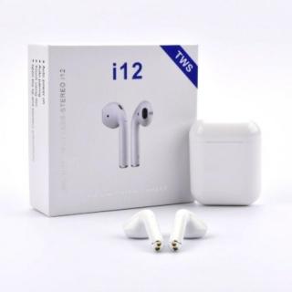 Tai nghe bluetooth không dây i12 TWS5.0, thiết kế nhỏ gọn, chất lượng âm thanh nổi HIFI, chức năng giảm tạp âm - Tai nghe không dây i12, Tai nghe bluetooth không dây 8