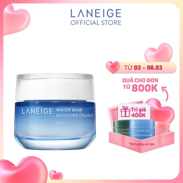 Kem dưỡng ẩm cho da khô Laneige Water Bank Moisture Cream Ex 50ML - chính hãng