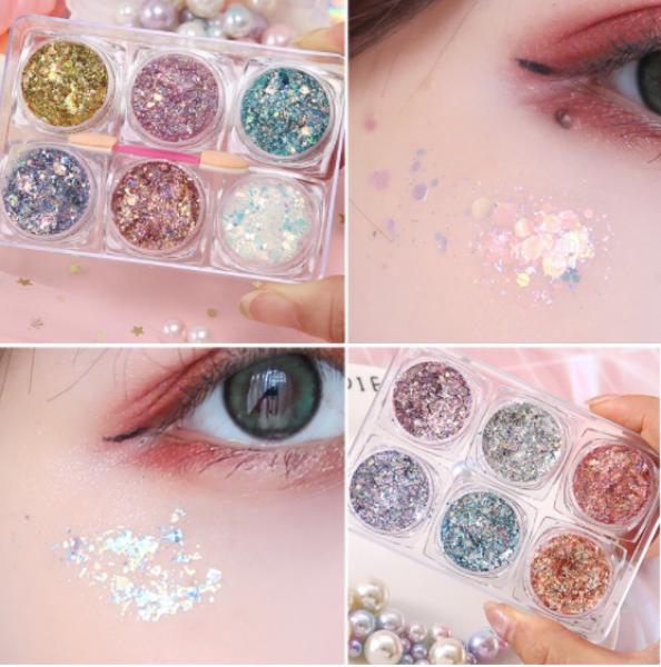 Nhũ mắt Glitter Kim Tuyến Make up Phong cách Ullzang - Hoặc trang trí móng tay Nail🧏🏻♀️🧏🏻♀️ nhập khẩu