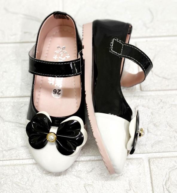 Búp bê nơ thắt hột châu bé gái siêu bền đẹp - Giày đi học bé gái - Giày cho bé gái từ size 26 -35 giá rẻ